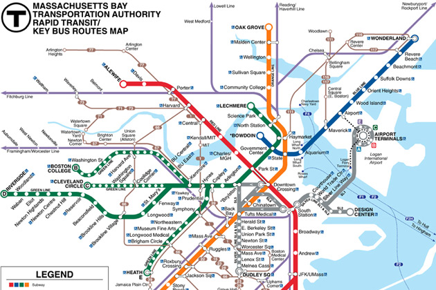 Subway Map Boston Pdf.Machinists Union Local 264 Boston Page 6